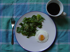"Japanese ""Western"" breakfast (Shanti, shanti) Tags: coffee salad egg japanesebreakfast"