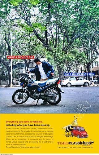 Times Classifieds-Naresh Nagda-Model-Mumbai-India