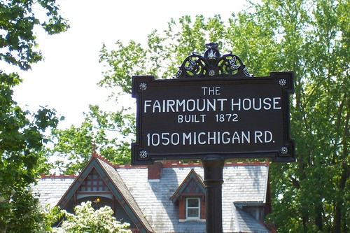 Fairmount House sign