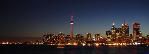 Toronto Night Skyline (wide)
