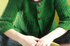 february lady sweater (flint knits) Tags: two baby green lady sweater knitting elizabeth knit merino february needles ochre worsted knitters almanac sundara zimmermann freepattern zimmermania flintknits pamelawynne februaryladysweater