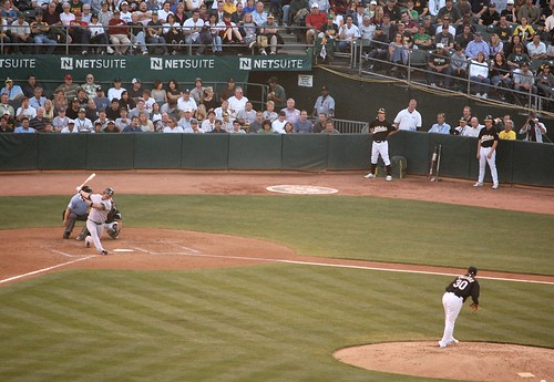 Giambi at Bat
