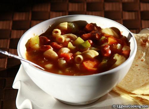 Pasta Beans Soup