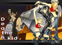 deaththekid-1 (Lakanna -.^) Tags: wallpaper anime liz death kid soul patty eater backround remade lakanna