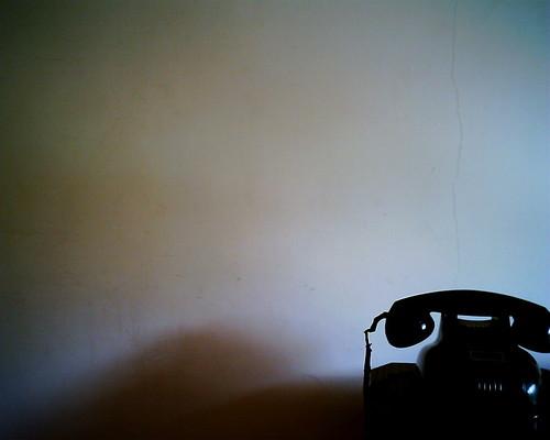 【写真】VQ1005で撮影した前川國男邸の黒電話