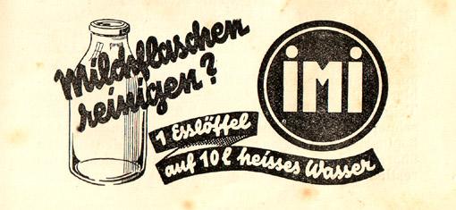 IMI-Werbung 1934