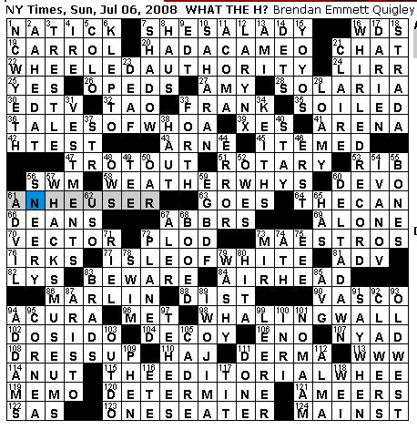 rex parker does the nyt crossword puzzle treasure island
