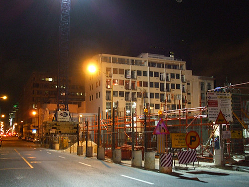 Construction In Progress, Loop Street, Cape Town by Mandy J Watson, on Flickr