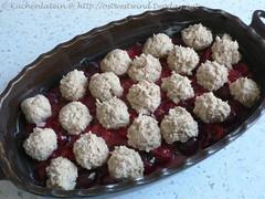 Cherry Redcurrant Cobbler 001