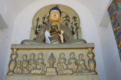 In the Shanti Stupa 2