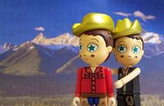 I wish I knew how to quit you. (partymonstrrrr) Tags: mountain toy toys kidrobot brokeback heatherette brokebackmountain