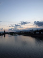 Kagami River Evening