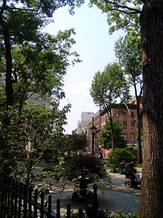 West Village, NYC: Jackson Square Park by JoeBehrPalmSprings, on Flickr