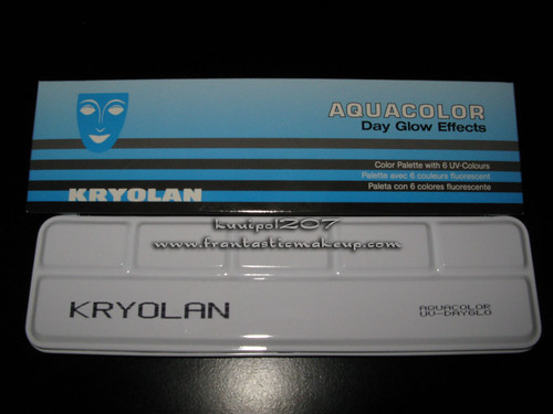 Kryolan UV Day Glow Palette