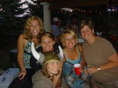 Cathie, Jen, Sooze, Jen & Kris