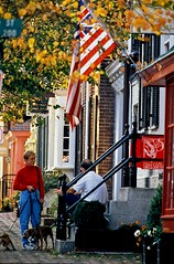 historic Alexandria, VA, built for walking (by: Washington, DC Convention & Tourism Corporation (WCTC) www.washington.org)
