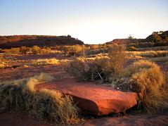 arrival (island home) Tags: sunset red nationalpark desert nt australia gorge arrival northernterritory palmvalley finke centralaustralia pentaxoptiom10