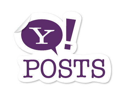 Logo do Yahoo! Posts
