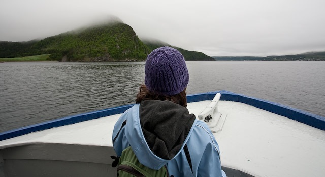 Bonne Bay Water Taxi at Gros Morne National Park