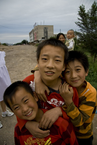 Kids in Pingliang