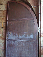One of the doors to the Tunnel (Littlenanarules) Tags: germany eaglesnest 2008