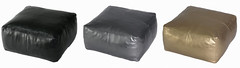 faux-leather poufs from Target (Anna @ D16) Tags: inspiration target pouf pleather