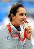 Alessia Filippi , con Freddy vince un bellissimo Argento nel nuoto. (Freddy-Olympic) Tags: italy sport italia freddy cina chn olympicteam squadraolimpica beijingpechino