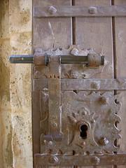 The lock...