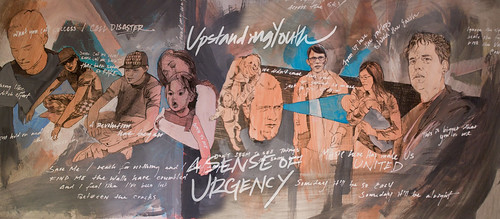 A sense of Urgency Album Art