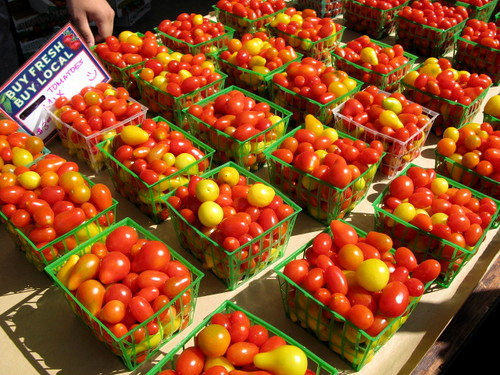 Tomatoes at the Marketplace