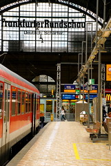 Train Station in Frankfurt