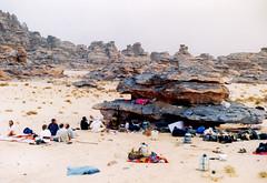 n tassili tour (Djanet Desert Convoy) Tags: desert convoy tuareg djanet