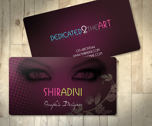 Business Card by Design by Shira