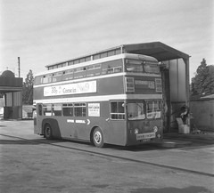 1976, and still in original livery. (Renown) Tags: buses nbc devon torquay roe coaches doubledecker leyland devongeneral atlantean pdr1 charleshroe nationalbusco newtonroadgarage 898dtt