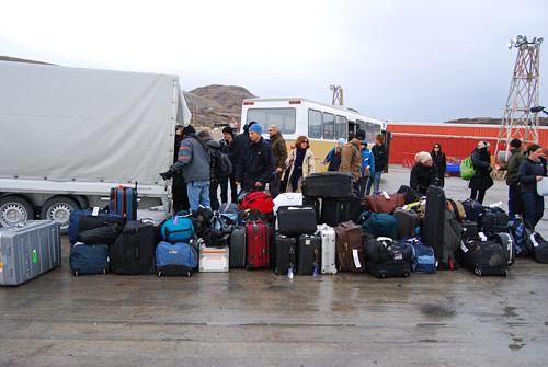 Luggage chaos