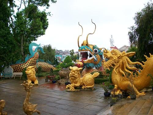 Pagoda - dragon