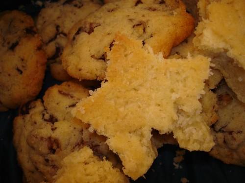 cookies carrés coco