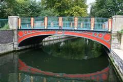 Iron bridge at Thetford