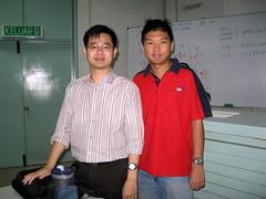 Mr Yap & me