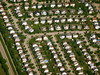 Chicago suburbs from the air (Scorpions and Centaurs) Tags: travel houses vacation holiday chicago streets airplane flying suburban flight over aerial suburbs roads neighbourhood fromtheair subdivision