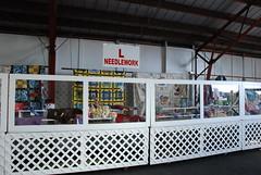 The needlework exhibit