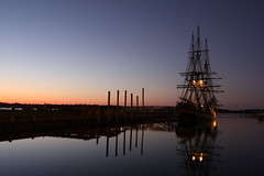 Friendship at Sunrise (Superfluous Man) Tags: sunrise ma salem nautical tallship blueribbonwinner derbywharf supershot anawesomeshot almostanything brianmcclellan