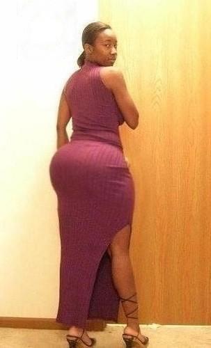 Phat black booty