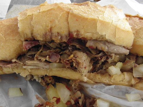 10-09 roast pork sandwich