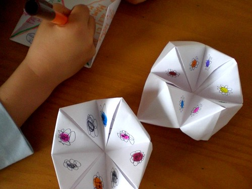 Childhood Paper Games