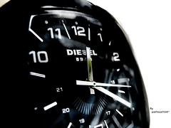 DIESL Watch (q8phantom) Tags: macro up close diesel watch