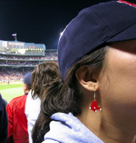 Red Sox Earrings