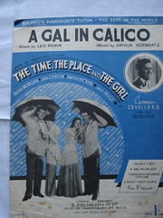 A gal in calico (standby4action) Tags: sheetmusic jackcarson dennismorgan marthavickersjanispaige