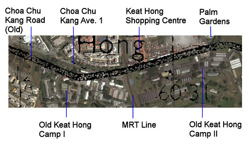 Choa Chu Kang Road @ Keat Hong Camp