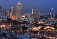 Uniquely Singapore (A Sutanto) Tags: skyline night buildings river lights hotel flyer twilight singapore dusk parliament esplanade ferriswheel bluehour ritzcarlton sg singaporeriver marinasquare marinabay millenia theesplanade mywinners singaporeflyer